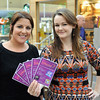 Lisa Kenny & Nicola Carragher promoting events being held during the Nugrove Arts Fest.<br /> <br /> An Cathaoirleach Cllr Carrie Smyth launched Nutgrove Arts Fest 2013 on Thursday 26 September 2013. The event took place from 6.30pm to 8.30pm and included Musicians Shannen Byrne & Michéal Smith from Kicking Bird, The Bastable Warren School of Irish Dancing, Bollywood Dance Dublin, Independent Theatre Workshop and RUGS Ukelele Band.