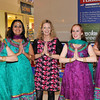 Bollywood Dance Dublin give Denise Donnelly of The Doorway Gallery her first lesson in Bollywood Dance moves at the launch. L to R: Siobhan Hargis, Claudia Martinez, Denise Donnelly, Emer Wall and Jennifer Burke.<br /> <br /> An Cathaoirleach Cllr Carrie Smyth launched Nutgrove Arts Fest 2013 on Thursday 26 September 2013. The event took place from 6.30pm to 8.30pm and included Musicians Shannen Byrne & Michéal Smith from Kicking Bird, The Bastable Warren School of Irish Dancing, Bollywood Dance Dublin, Independent Theatre Workshop and RUGS Ukelele Band.