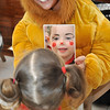 Image features 'The Cowardly Lion', Colleen Hogan helping Caoimhe Deburca check out her freshly painted face.<br /> <br /> An Cathaoirleach Cllr Carrie Smyth launched Nutgrove Arts Fest 2013 on Thursday 26 September 2013. The event took place from 6.30pm to 8.30pm and included Musicians Shannen Byrne & Michéal Smith from Kicking Bird, The Bastable Warren School of Irish Dancing, Bollywood Dance Dublin, Independent Theatre Workshop and RUGS Ukelele Band.