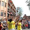 Acrobatic performers of San Miguel Brewery Inc.