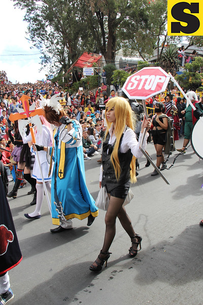 Baguio cosplayers