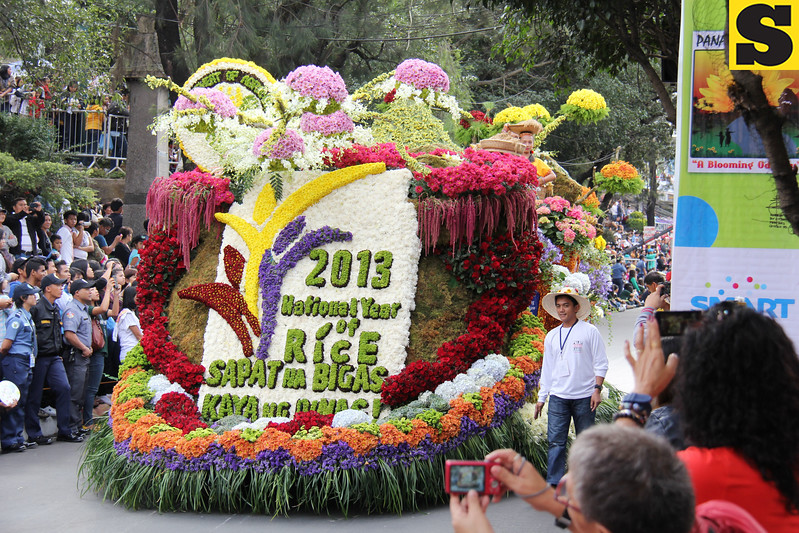 Department of Agriculture-Cordillera Administrative Region float.