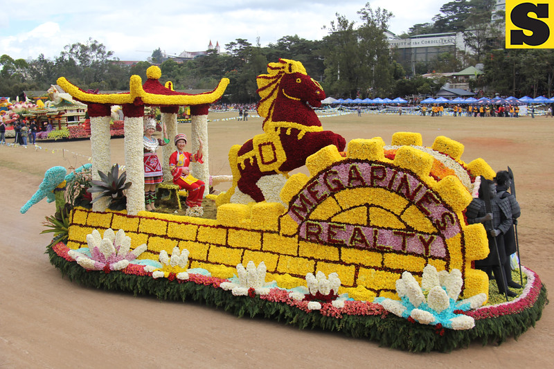 Megapines Realty joins Panagbenga 2014 float parade