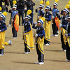 Saint Louis University Band performs during Panagbenga 2014 float parade