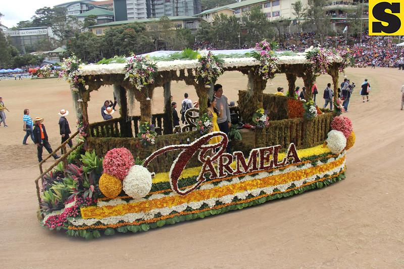 GMA Network Inc. joins Panagbenga 2014 float parade