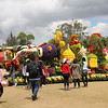 Beautiful and colorful floats on display at the Athletic Bowl in Baguio City after the Panagbenga 2014 grand float parade on Sunday, February 23, 2014. (Jean Mondonedo-Ynot)