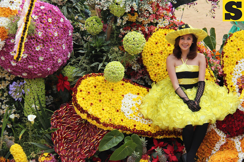 Le Monet Hotel joins Panagbenga 2014 float parade
