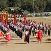 Baguio City National High School joins Panagbenga float parade 2014