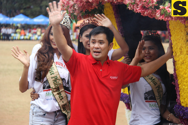 Ogie Alcasid joins Panagbenga 2014 onboard MLhuillier's float