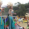 International Pharmaceuticals Inc. (IPI) dancers perform onboard IPI's Panagbenga 2014 float