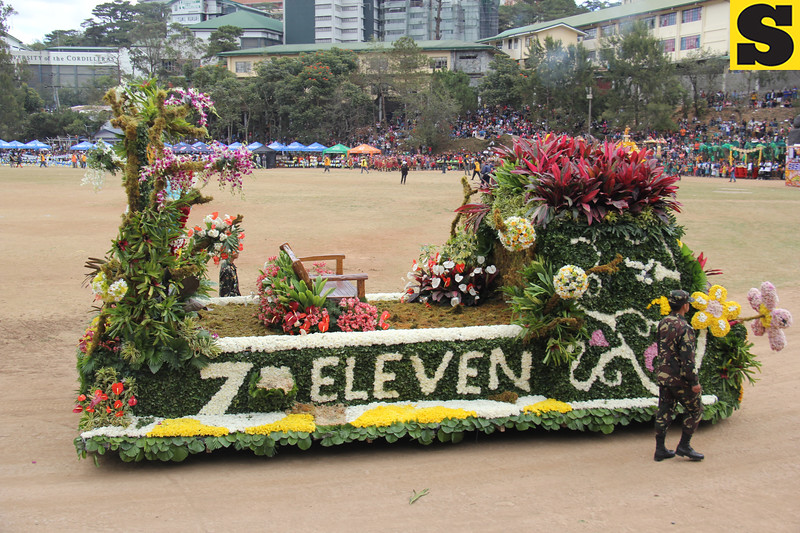 7-Eleven joins Panagbenga 2014 grand float parade