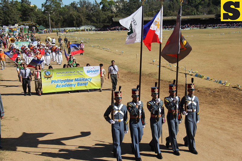 Parade of colors during the Panagbenga 2014 Grand Float Parade