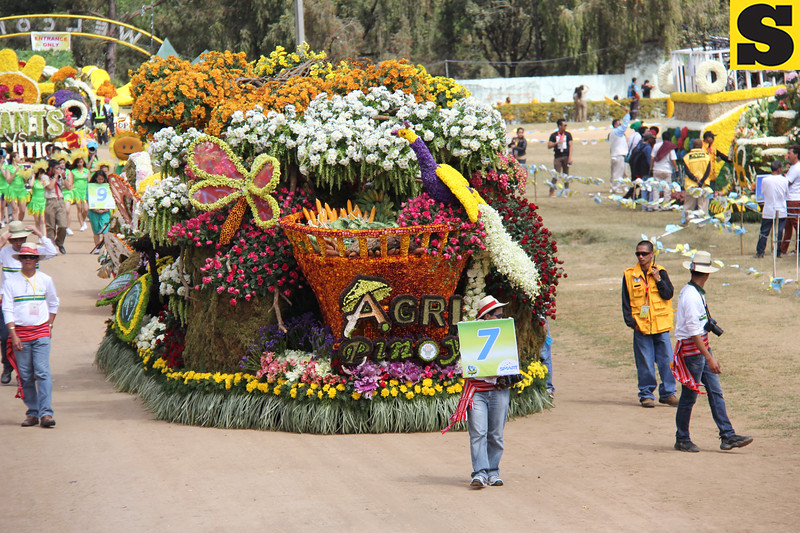 Department of Agriculture-Cordillera joins Panagbenga 2014 float parade