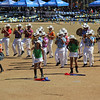 PMA Band performs during Panagbenga 2014 float parade