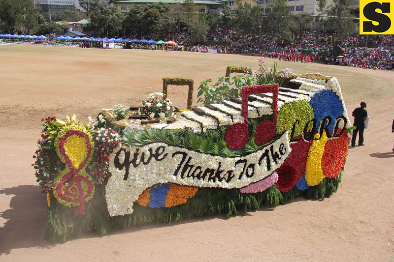International Praise Center joins Panagbenga 2014 float parade