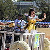 Alodia Gosiengfiao onboard Smart Communications Panagbenga 2014 float