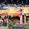 Doxology during the Panagbenga 2014 Grand Float Parade