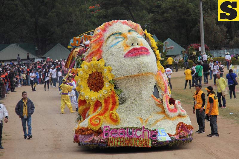 Beauche International joins Panagbenga 2014 float parade