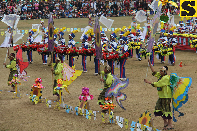 Baguio City celebrated last February 22, 2014 the Panagbenga 2014 Grand Street Parade