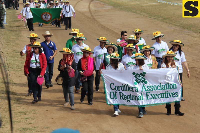 Cordillera Association of Regional Executives join Panagbenga 2014 street parade