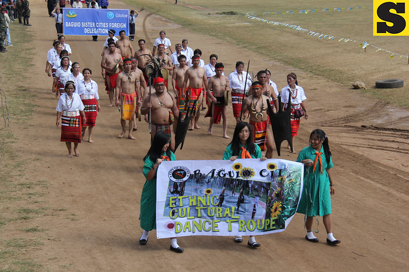 Ethnic Cultural Troupe joins Panagbenga 2014 street parade