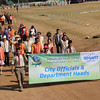 Baguio City officials lead the Panagbenga 2014 street dance parade