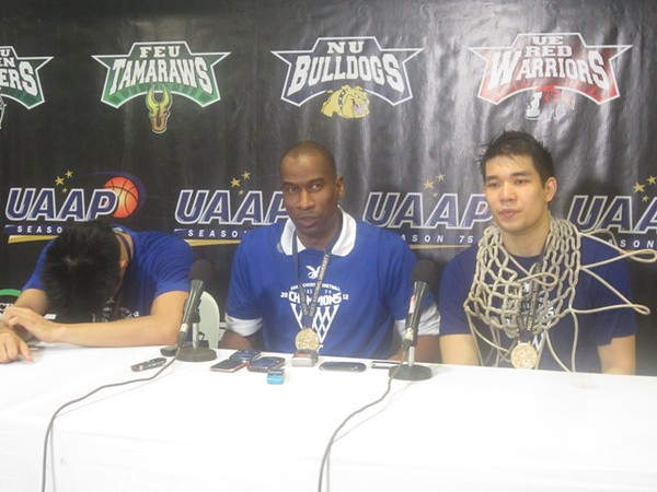 """MANILA. Ateneo coach Norman Black says the atmosphere in a UAAP game is just """"exceptional."""" (Virgil Lopez/Sunnex)"""