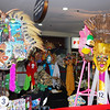 Entries for ABS CBN's mask-making contest are on display at Robinsons Place until October 21.  (Merlinda A. Pedrosa)