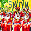 LOCAL CHICKEN. The contingent from Barangays Bulak, Tubod-Dunguan, Masa Cambanog and Pawa, Dumanjug won the fi rst Bisayang Manok (Bisnok) festival in Dumanjug. (Alex Badayos)