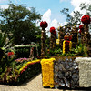 The barangays of Cebu City show off their flower floats during the Flower Festival. (Allan Defensor)