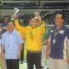 MANILA. Cebu's Jerie Pingoy wins his second UAAP juniors trophy Thursday at the Araneta Coliseum. (Virgil Lopez/Sunnex)