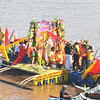 FLUVIAL PROCESSION. More than a hundred residents participate in a fluvial procession along the Cagayan River in celebration of the Feast of St. Augustine on Aug. 28. At least 50 decorated pump boats joined in the annual event. (Joey P. Nacalaban)