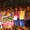 PAMPANGA. Korina Christiene Reyes (second from left) is crowned Mutya ning Sinukwan 2012. (Photo by Jovi de Leon)