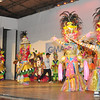BACOLOD. The streetdance costumes and masks used in last year's competitions were presented to the public through the MassKara Preview at the Bays Center. (Daryl Jimenea)