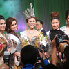 Ms Cebu 2012 Pierre Anther Infante (center) and her court. (Sunnex photo)