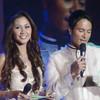 Hosts of the night Ms Cebu 2010 Reena Elena Malinao and actor Rafael Rosell. (Sunnex photo)