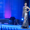Ms Cebu 2012 candidate #12 Lesly Ane P. Fernandez of the University of San Carlos in her evening gown. (Sunnex photo)