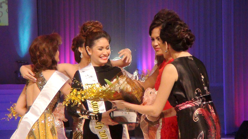 Ms Cebu 2012 candidate #4 Rachel Chloe T. Palang was declared First Runner-up. (Sunnex photo)