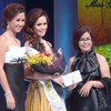 Ms Cebu 2012 candidate #7 Ella Beverly P. Sarmago wins another special award during the pageant night at Waterfront Cebu Hotel. (Sunnex photo)