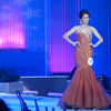 Ms Cebu 2012 candidate #10 Jonnie Rose Louise R. Wee of Velez College in her evening gown. (Sunnex photo)