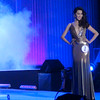 Ms Cebu 2012 candidate #1 Michelle Angelique A. Tan of Velez College in her evening gown. (Sunnex photo)