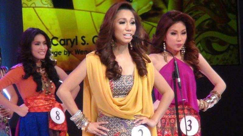 Ms Cebu 2012 candidate #2 Ann Caryl S. Gotingco of the University of San Carlos. (Sunnex photo)