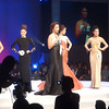 Top 5 candidates of Ms Cebu 2012 with Ms Cebu 2010 Reena Elena Malinao hosting the event. (Sunnex photo)