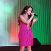 American Idol finalist Monique delos Santos performs during the Ms Cebu 2012 pageant night. (Sunnex photo)