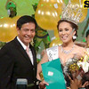 Cebu City Mayor Mike Rama and Ms Cebu 2012 Pierre Anther Infante. (Sunnex photo)