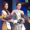 Ms Cebu 2012 candidates #7 Ella Beverly P. Sarmago and #6 Pierre Anther G. Infante. (Sunnex photo)