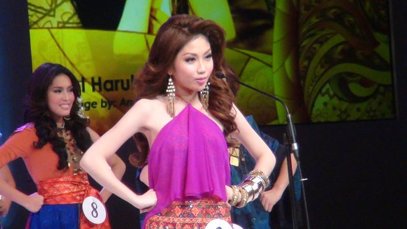 Ms Cebu 2012 candidate #3 Mary Hazel Haruka T. Watabe of Cebu Doctors University. (Sunnex photo)