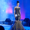 Ms Cebu 2012 candidate #11 Shannen R. Abarquez of the University of San Carlos in her evening gown. (Sunnex photo)