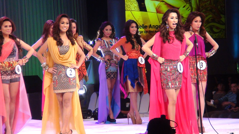 Ms Cebu 2012 candidates. (Sunnex photo)