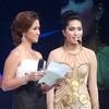 Ms Cebu 2010 Reena Elena Malinao and Ms Cebu 2012 candidate #8 Herlie Kim T. Artugue. (Sunnex photo)